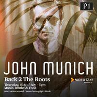 John Munich am 16. Juli live per Livestream auf Video.Taxi
