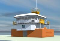 """Maritime Attraktion: Steuerhaus der """"Schulpengat"""" kehrt zurück nach Texel"""