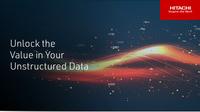 Hitachi Vantara beschleunigt Hochleistungs-Workloads mit unstrukturierten Daten