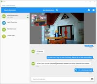 Virtuelle Kommunikation im ecoDMS Archiv über den ecoWORKZ-Videochat