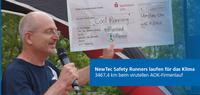 """""""NewTec Safety Runners"""" laufen für das Klima"""
