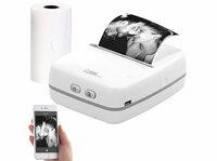 Callstel Mobiler Akku-Thermodrucker TD-100.app, 203 dpi