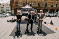 E-Scooters fahren in Ulm und Neu-Ulm