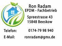 Dachabdichtung vom Profi mit EPDM Folie in Brandenburg