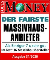 """Viebrockhaus auch 2020 """"Der Fairste Massivhausanbieter"""""""