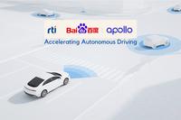 RTI tritt Baidu Apollo Autonomous Driving Partner Ecosystem bei