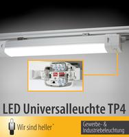 """Die Universalleuchte TP4 - """"Wir sind heller"""" macht Arbeitsbeleuchtung flexibel"""