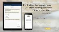 Baufinanzierungs-Assistent der Degussa Bank ausgezeichnet