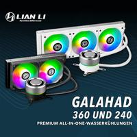 Neu bei Caseking: Lian Li GALAHAD AiO-Wasserkühlungen!