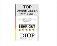 Top Arbeitgeber (DIQP) an Bracher Bock Ingenieure vergeben