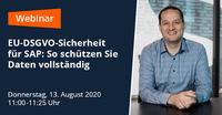 EU-DSGVO-Sicherheit für SAP: So schützen Sie Daten