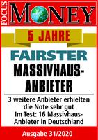 """ARGE-HAUS auch 2020 """"Fairster Massivhausanbieter"""""""