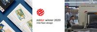 "Sieger des Red Dot 2020 im Award ""Interface Design"""