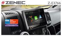 EISA Award 2020 / 2021 für Zenecs Reisemobil-Navi Z-E3766