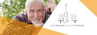 """Peter Reimer (Gitarrist) ist der """"Mann auf der Bank"""""""