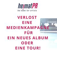 HeimatPR - the home for artists - verlost Medienkampagne!