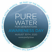 PURE WATER AWARENESS DAY IN GANZ EUROPA AM 30. August