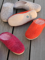 Hyggelige Filzhausschuhe:    Tipps gegen kalte Füße