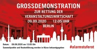 #AlarmstufeRot - Einladung zur Pressekonferenz am 09.09. in Berlin