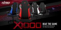 Neu bei Caseking: Die Nitro Concepts X1000 Gaming-Stühle!