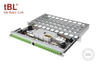 Green IT im Verteilerschrank: tde präsentiert durchlüftete 19-Zoll LWL-Spleißbox für tBL-Serie