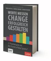 """Jetzt Platz sichern beim hybriden Buchevent zu """"Werte messen - Change erfolgreich gestalten"""""""