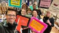 Eröffnung mit Paukenschlag: schuhplus in Hamburg gestartet