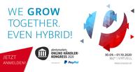 Ab sofort ist die Anmeldung möglich: Hybrid-Event plentymarkets #OHK2020 - Schnell sein lohnt sich