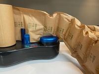 Luftpolster aus Papier für mehr Nachhaltigkeit im e-commerce