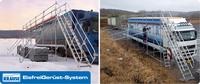 Das original KRAUSE EisfreiGerüst-System sorgt für sichere Fahrt - auch im Winter