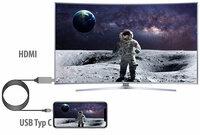 Callstel Anschlusskabel USB Typ C zu HDMI