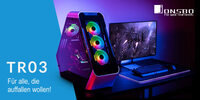 Caseking präsentiert Jonsbo TR03 Showcases mit USB Typ C