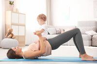 Kinder vor und nach der Geburt vor Übergewicht schützen