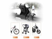 """Praktischer Smartphoneholder """"Tour"""" für Fahrrad, E-Scooter, Motorrad und Kinderwagen"""