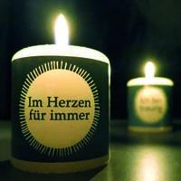 Meine kleine Kerze - für trauernde Menschen neue innovative Produktlinie