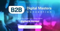 B2B Digital Masters Convention geht als Online-Edition in die zweite Runde