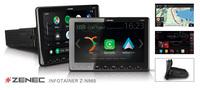 Mobiler Infotainer -  ZENECs 1-DIN Multimediasystem Z-N965