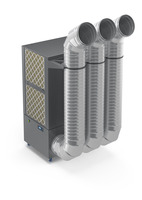 Leistungsstarker Luftreiniger für industrielle Umgebungen schützt Geschäft und Mitarbeiter