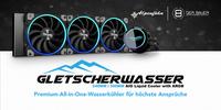 Alpenföhn Gletscherwasser Premium All-in-One-Wasserkühler