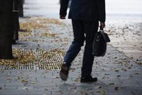 Herbstlaub: Wer muss Bürgersteig freihalten?