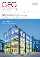 "Titeländerung: Fachmagazin ""EnEV Baupraxis"" heißt jetzt ""GEG Baupraxis"""