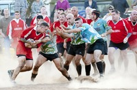 Rugby-Domains vor dem ersten Schuss
