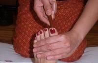 Thai Massage in Stuttgart wirkt auf die Fußreflexzonen