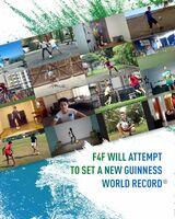 """""""Fußball für Freundschaft""""-Spieler jagen nächsten Guinness-Weltrekord: Die meisten Teilnehmer der Welt bei einem Online-Fußball-Event"""
