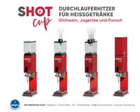 SHOT Cup Glühweinerhitzer sorgt für Stimmung!