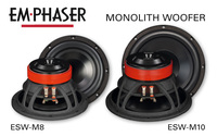 Bass-Upgrade im Auto: EMPHASERs Woofer ESW-M8 und ESW-M10