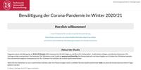 TU Braunschweig startet große Online-Studie zum Lockdown in Deutschland, Österreich und der Schweiz
