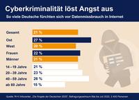 Jeder fünfte Deutsche fürchtet Online-Datenmissbrauch