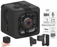 Somikon HD-Micro-Videokamera & Webcam DV-710.cube