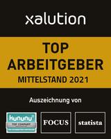 xalution zählt erneut zu Deutschlands Top-Arbeitgebern Mittelstand
